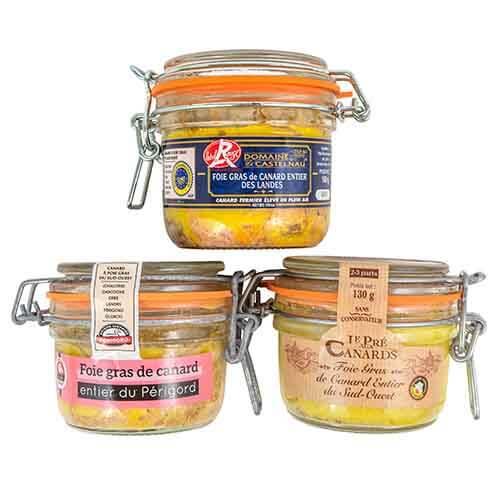 Probierset Entenleber am Stück  Foie gras-Sets