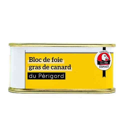 « Bloc de Foie Gras » på anka « Maison Espinet » 200 g  Gåslever och anklever