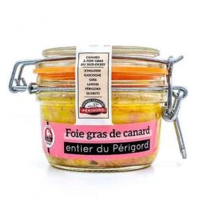 Foie gras entier de canard IGP du Périgord « Maison Espinet » 130 g Les foies gras