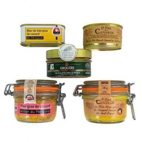 Proeverij pakket 'Foie Gras Gourmet' Foie gras sets