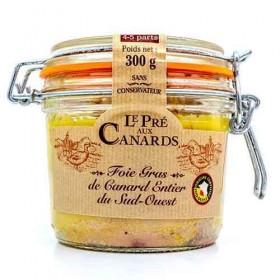 « Pré aux Canards » Entenleber am Stück IGP Sud-Ouest 300 g Die Foies gras