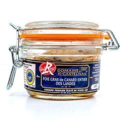 Gehele foie gras Label Rouge Domaine de Castelnau 120 g De foies gras