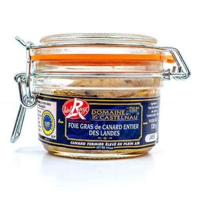 Domaine de Castelnau «Label Rouge» Duck Whole Foie Gras 120 g