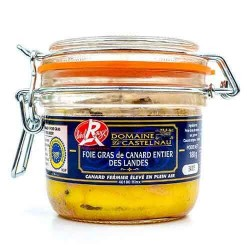 Domaine de Castelnau «Label Rouge» Duck Whole Foie Gras 180 g