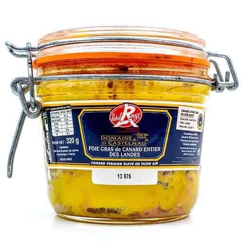 « Domaine de Castelnau » Entenleber am Stück Label Rouge 320 g Die Foies gras