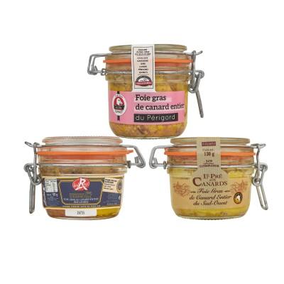 Proeverij pakket 'Gehele Foie Gras van Eendenlever'