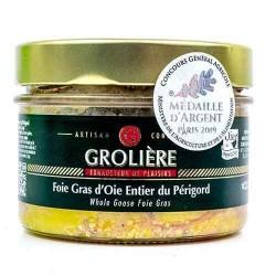 Hel gåslever från Grolière 180 g  Gåslever och anklever