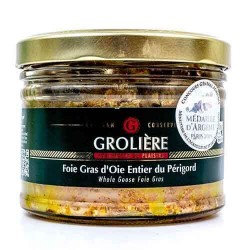 Hel gåslever från Grolière 300 g  Gåslever och anklever
