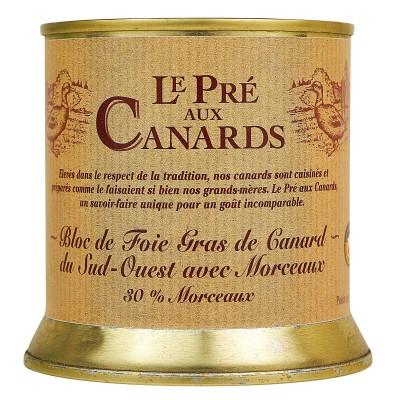 Bloc de Foie Gras de Canard IGP du Sud-Ouest « Pré aux Canards » 200 g