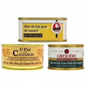 Foie Gras-Startpaket für Neulinge und Liebhaber Foie gras-Sets