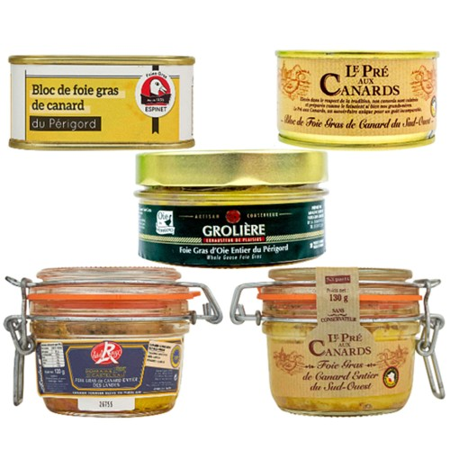 Gourmet-Probierset Foie gras-Sets