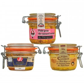 Coffret Dégustation Tout Canard  Les coffrets de foies gras
