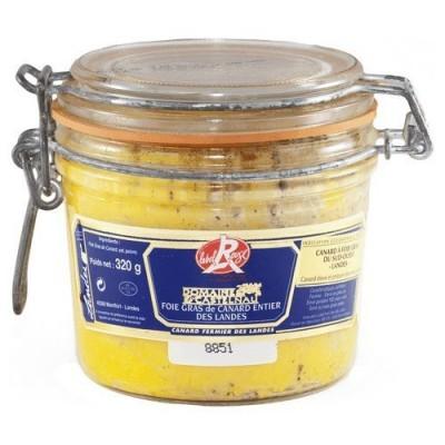 Gehele foie gras Label Rouge Domaine de Castelnau 320 g