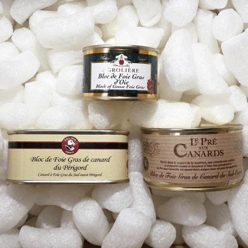 Coffret dégustation Découverte  Les coffrets de foies gras