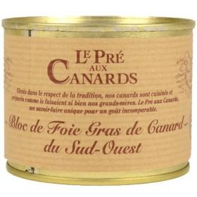 Pré aux Canards PGI SW France Duck Bloc Foie Gras 200g Foie gras