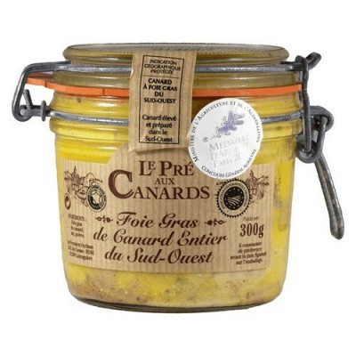 Pré aux Canards PGI SW France Duck Whole Foie Gras 300 g