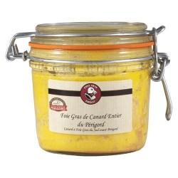 Gehele eenden foie gras uit de Périgord IGP « Maison Espinet » 300 g De foies gras